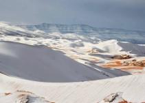 Sorprende Nevada en el Sahara