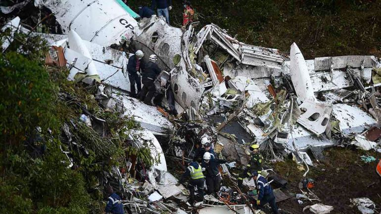 Las 6 perores tragedias aereas en el mundo del deporte