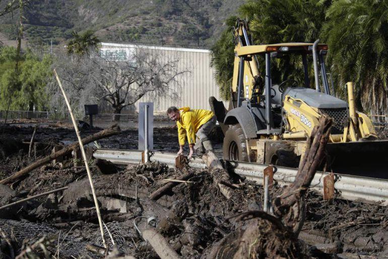 deslaves, EU: Deslaves en California; hay 15 muertos