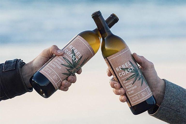 Lanzan al mercado vino con marihuana en lugar de alcohol