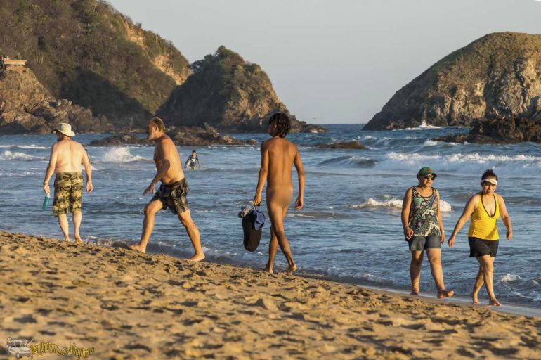 Zipolite, Festival Nudista: Prepárate para el Festival Nudista de Zipolite