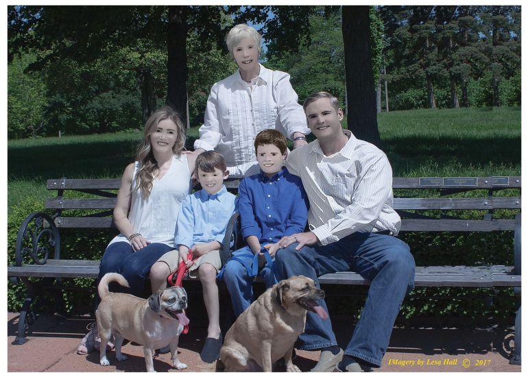 Un retrato familiar terminó en desastre