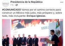 Enrique Iglesias es el nuevo presidente de México