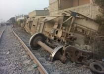 Se descarrila tren en Ecatepec