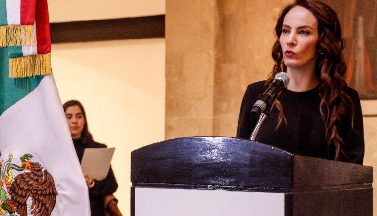 Gabriela Cuevas deja el PAN para apoyar a AMLO