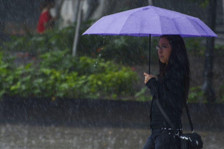 ¡Saca el paraguas! Se esperan lluvias en México