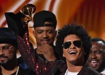 Arrasa Bruno Mars en los Grammy