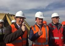 Defienden Meade y Mikel construcción del nuevo AICM