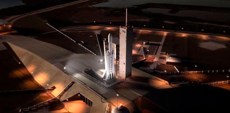 Nasa, cohete, Estados Unidos, poder, pontente, Falcon Heavy, SpaceX, 'Pad 39A': Prenden el cohete más potente del mundo