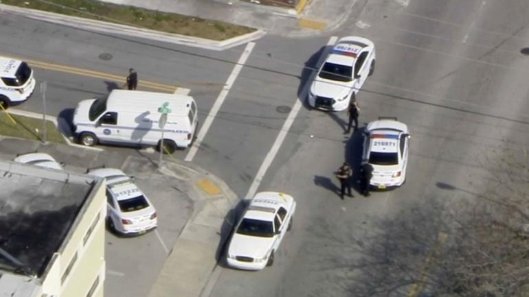 rehenes, Miami: Falsa toma de rehenes en Miami