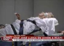 Internan a José José de emergencia