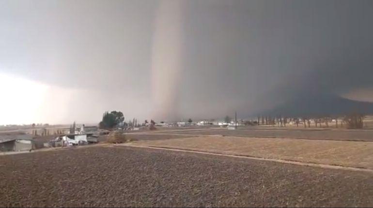 Tornado Edomex: Tornado daña casas en Edomex