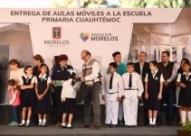 Habrá escuelas nuevas en Jojutla: Graco Ramirez