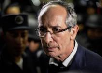 Detienen a expresidente de Guatemala