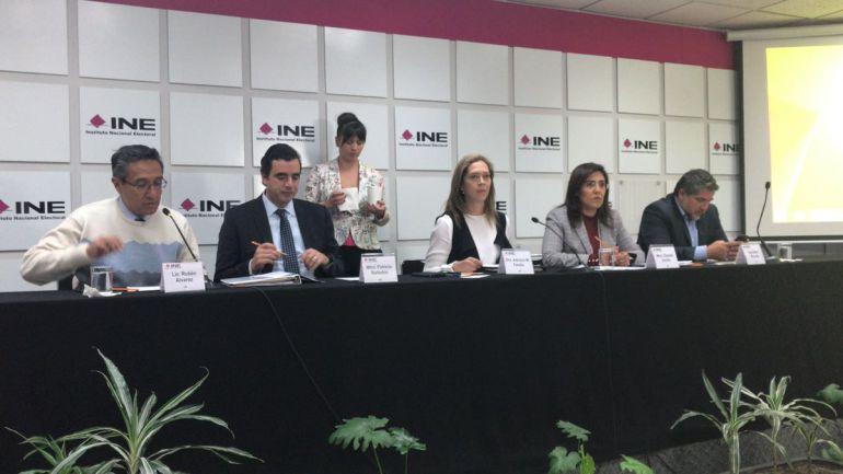 candidatos independientes: Cumplen siete aspirantes a una candidatura independiente al Senado: INE