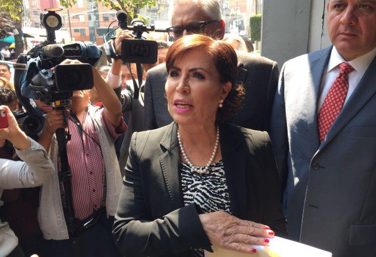 Rosario Robles, Sedesol, Sedatu: Niega Rosario Robles que haya desviado recursos en Sedesol y Sedatu