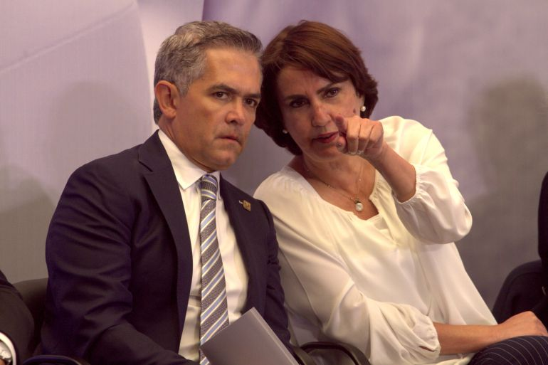 Patricia Mercado deja gabinete de Mancera; la sustituye Amieva