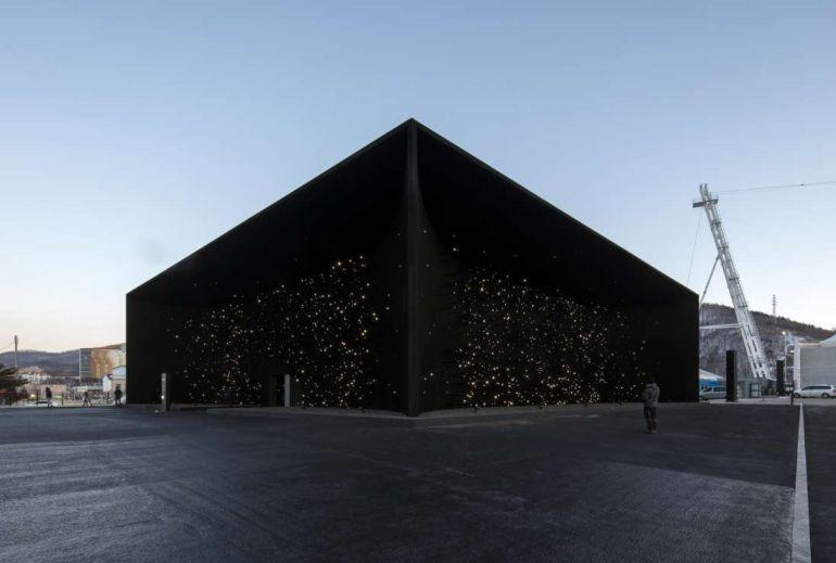 Este es el edificio más oscuro del mundo, Vantablack Vbx2: VIDEO: Este es el edificio más oscuro del mundo