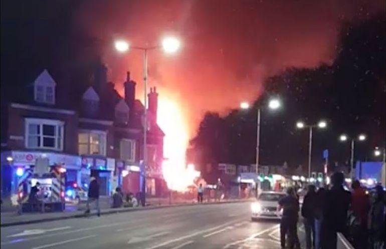 Exploción en Leicester en Inglaterra: Se registra explosión en Leicester, Inglaterra
