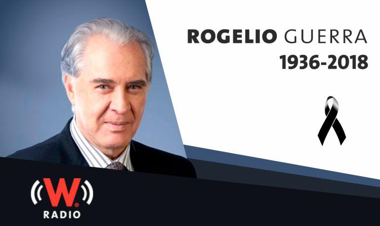 Muere el actor Rogelio Guerra, a los 81 años Actor de teatro, cine, televisión y doblaje: Muere el actor Rogelio Guerra, a los 81 años