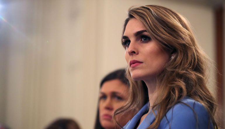 Renuncia, Hope Hicks, Casa Blanca: Renuncia directora de comunicación de la Casa Blanca