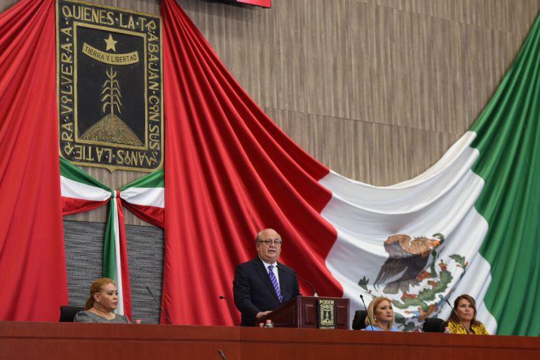 Graco Ramírez, Morelos: Graco Ramírez inaugura Congreso de Morelos