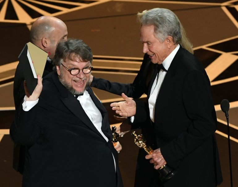Lista de ganadores Oscars, Guillermo Del Toro: Lista de Ganadores de los Premios Oscar 2018