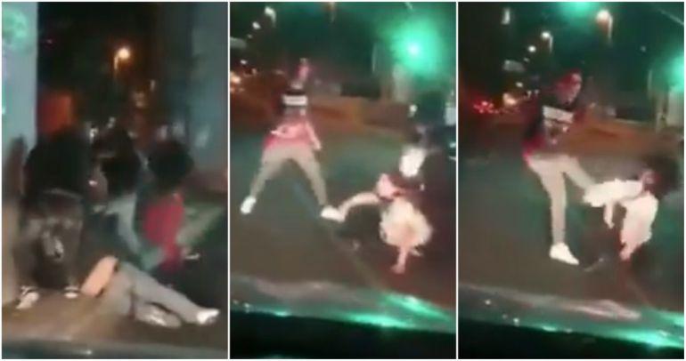 pareja, Tláhuac: Golpean a pareja en avenida Tláhuac