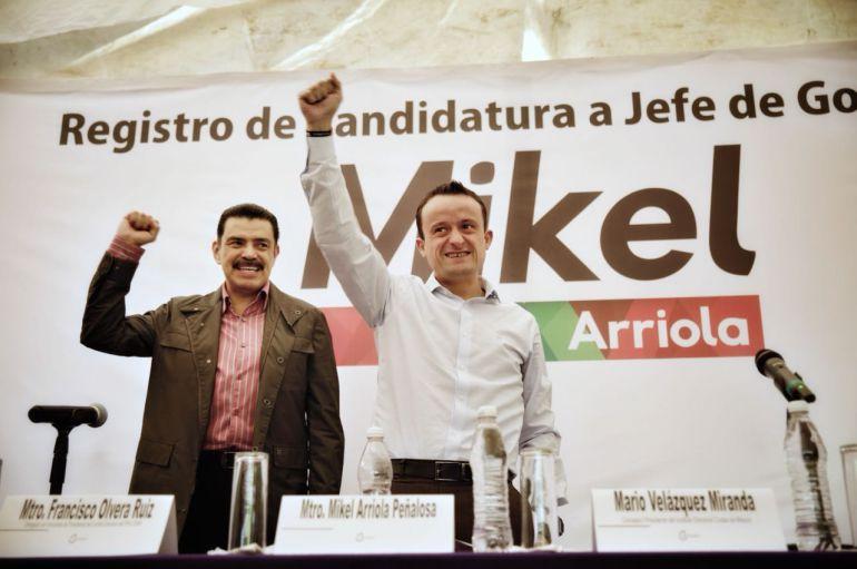 Mikel Arriola, CDMX: Mikel Arriola oficializa su candidatura a la jefatura de la CDMX