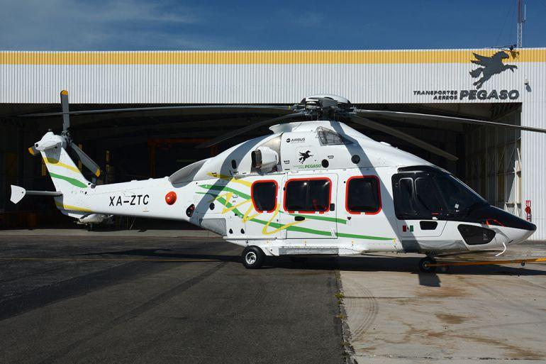 taxis, Transportes Aéreos Pegaso: Pegaso inaugura servicio de taxis aéreos en México