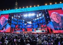 Vladimir Putin gana con más del 70% de los votos