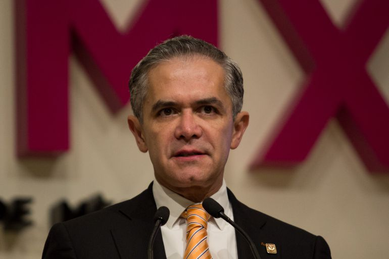 Mancera, Senado: Mancera promete apoyar el desarrollo de México desde el Senado