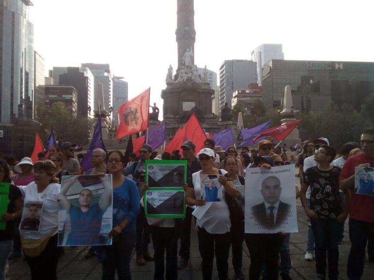 estudiantes, Jalisco: Marchan en CDMX por los estudiantes desaparecidos en Jalisco