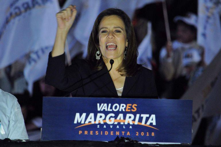 Margarita Zavala: En arranque de campaña, Margarita Zavala arremete contra Meade, Anaya y AMLO