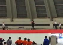 Un hombre se arrojó desde la cúpula de la TAPO