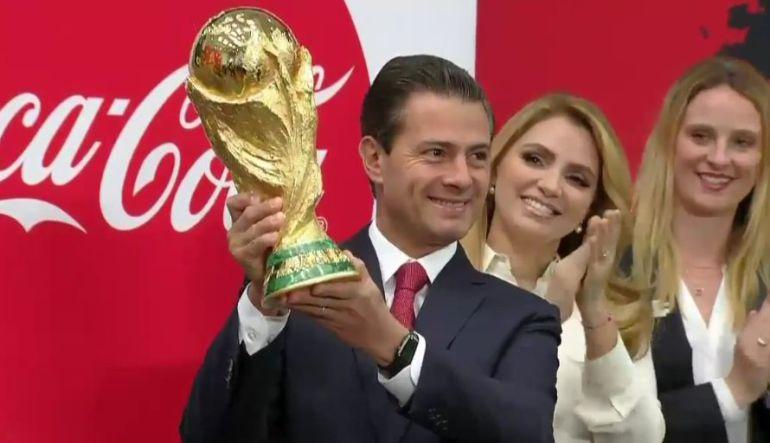 Estaré mas atento al Mundial de Rusia que al proceso electoral:EPN