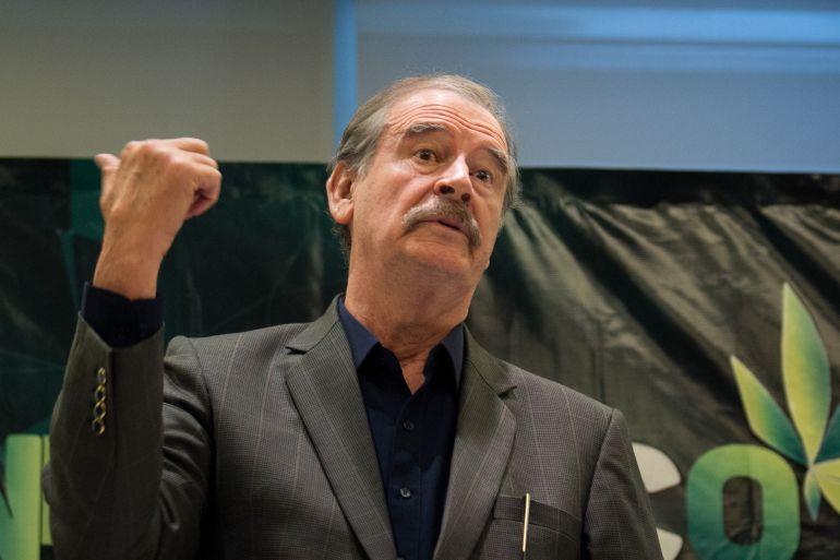 Vicente Fox, narcotráfico: Demanda Fox a candidatos golpear las finanzas de los capos