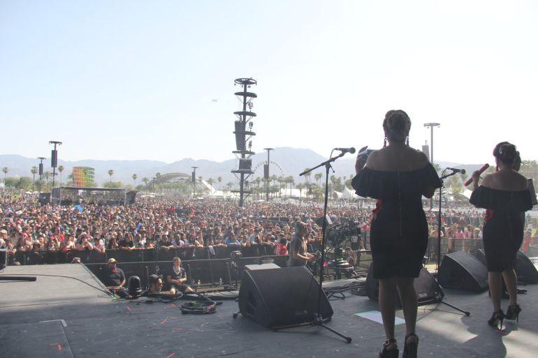Video: Justin Bieber baila con Los Angeles Azules en Coachella: Video: Justin Bieber baila con Los Angeles Azules en Coachella