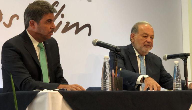 Suspender el NAIM es suspender crecimiento de México: Slim