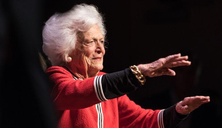 Muere Barbara Bush, ex Primera Dama de Estados Unidos