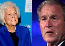 El mensaje del ex presidente Bush tras el fallecimiento de su madre, Barbara Bush