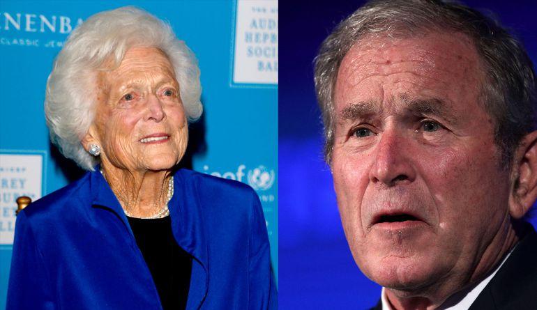 Murio la ex primera dama Barbara Bush a los 92 años: El mensaje del ex presidente Bush tras el fallecimiento de su madre, Barbara Bush