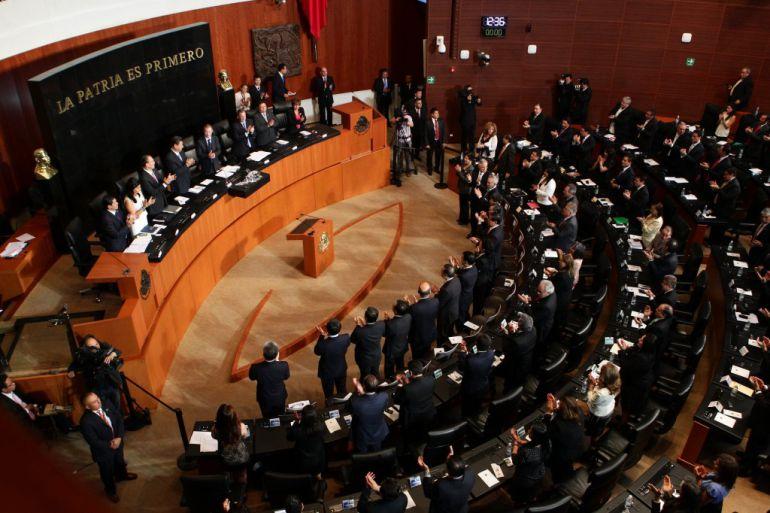 Ley Chayote, Senado: Se entrampa la llamada Ley Chayote en el Senado