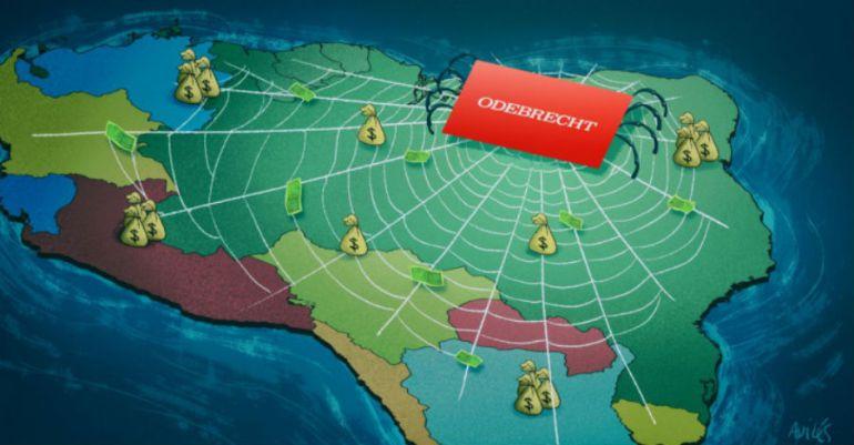 Odebrecht: Odebrecht en América Latina