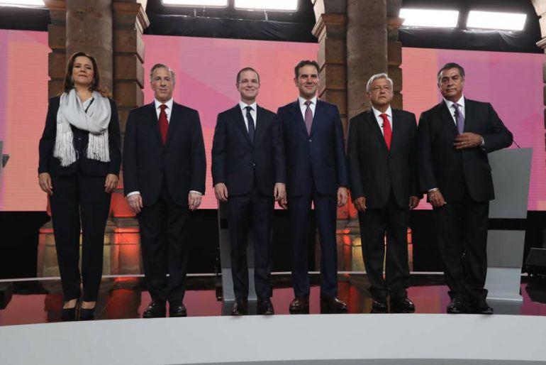primer debate: Nada para nadie en el primer debate
