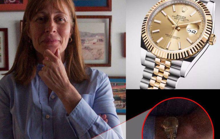 reloj, Tatiana Clouthier: Critican a Tatiana Clouthier por su reloj Rolex