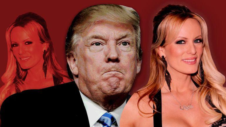 Donald Trump pagó el silencio de actriz porno Stormmy Daniels: Trump reconoce que pagó por el silencio de la actriz porno Stormy Daniels
