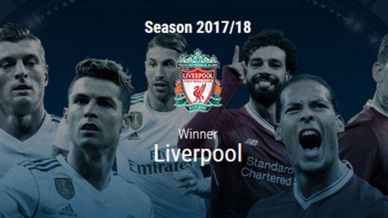 La UEFA decreta campeón al Liverpool de la Champions League: La UEFA decreta campeón al Liverpool de la Champions League