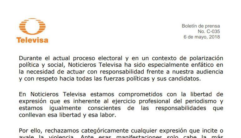 Televisa da por terminada su relación laboral con Ricardo Alemán