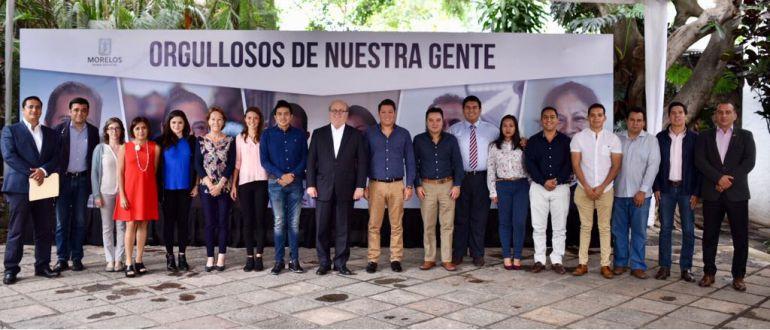 Graco Ramírez asume compromisos con estudiantes de la UAEM